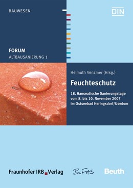 Abbildung von / Venzmer | Altbausanierung 1 | 2007 | Feuchteschutz Hanseatische San...