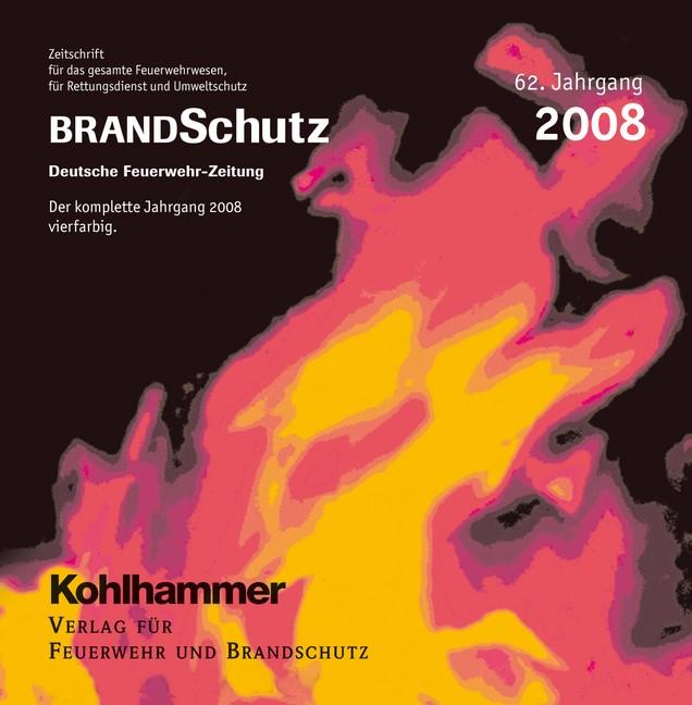 BRANDSchutz 2008 auf CD-ROM   62. Jahrgang, 2009 (Cover)