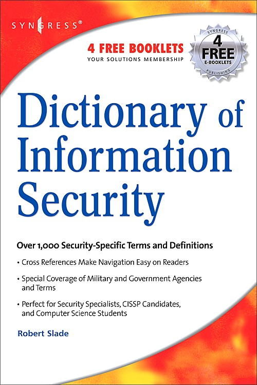 Abbildung von Slade | Dictionary of Information Security | 2006