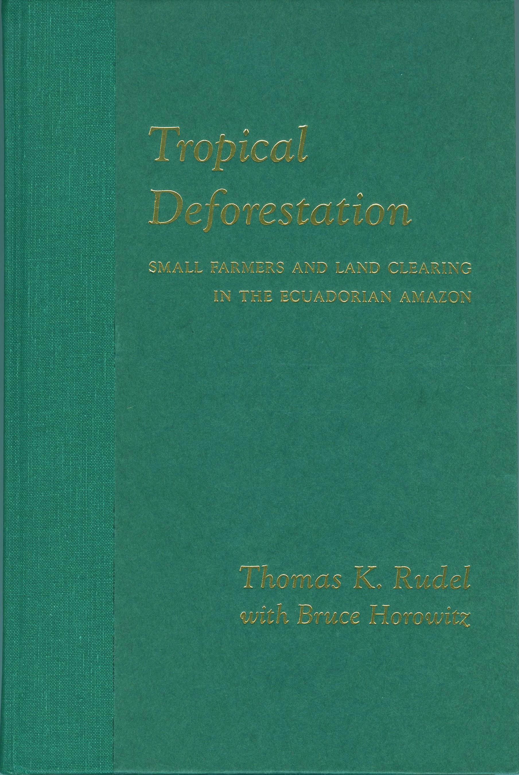 Abbildung von Sponsel / Headland / Bailey   Tropical Deforestation   1993