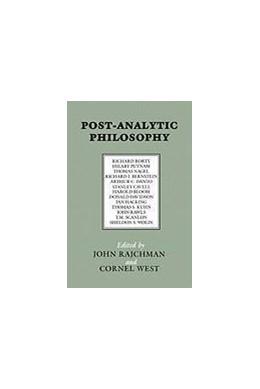 Abbildung von Rajchman / West | Post-Analytic Philosophy | 1985