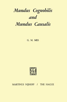 Abbildung von Mes | Mundus Cognobilis and Mundus Causalis | 1. Auflage | 1970 | beck-shop.de
