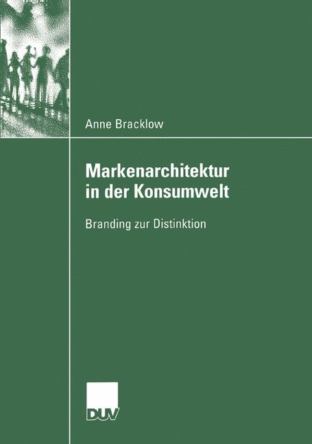 Markenarchitektur in der Konsumwelt | Bracklow, 2004 | Buch (Cover)
