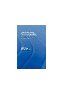 Abbildung von Koda / Zehler | Learning to Read Across Languages | 2007 | Cross-Linguistic Relationships...