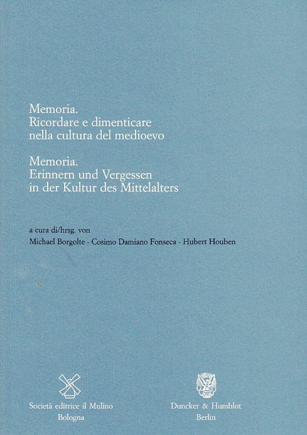 Abbildung von Borgolte / Fonseca / Houben | Memoria / Memoria. | 2005