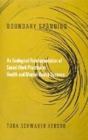 Abbildung von Kerson | Boundary Spanning | 2001
