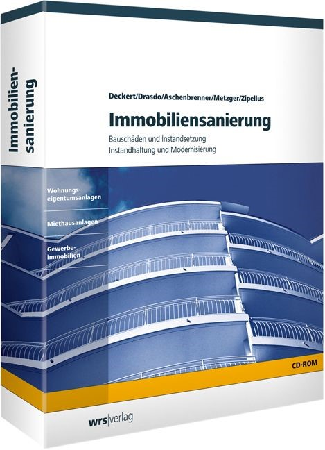 Immobiliensanierung | Deckert / Drasdo / Aschenbrenner | Version 3.1, 2006 | Buch (Cover)