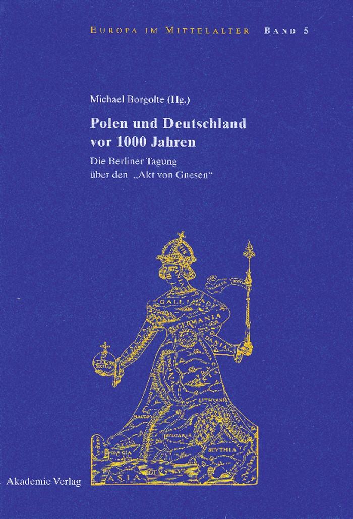 Polen und Deutschland vor 1000 Jahren | Borgolte | Reprint 2015, 2002 | Buch (Cover)