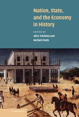 Abbildung von Teichova / Matis | Nation, State and the Economy in History | 2003