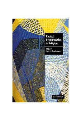 Abbildung von Frankenberry | Radical Interpretation in Religion | 2002