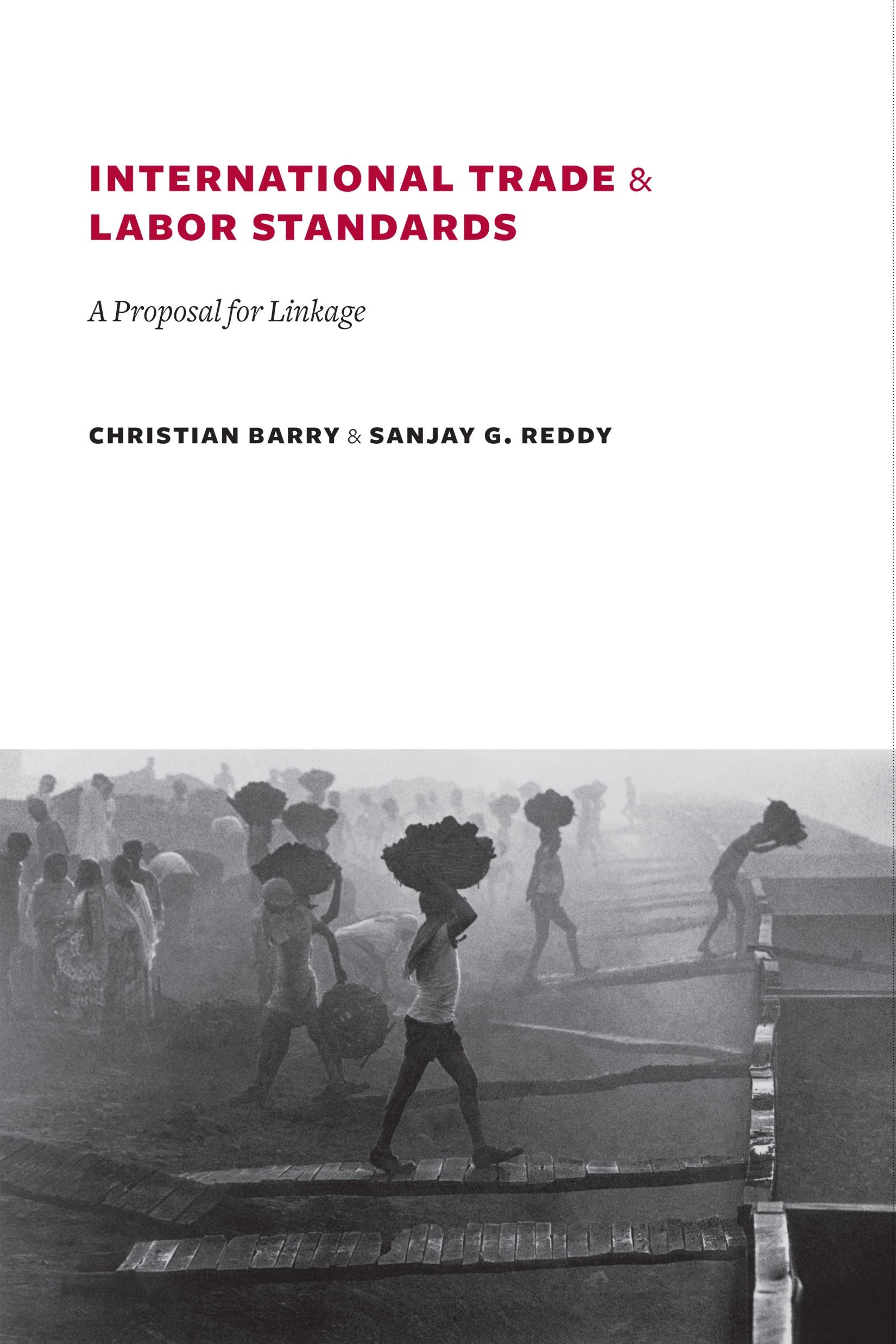 Abbildung von Barry / Reddy | International Trade and Labor Standards | 2008