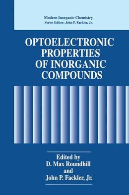Abbildung von Roundhill / Fackler Jr | Optoelectronic Properties of Inorganic Compounds | 1999