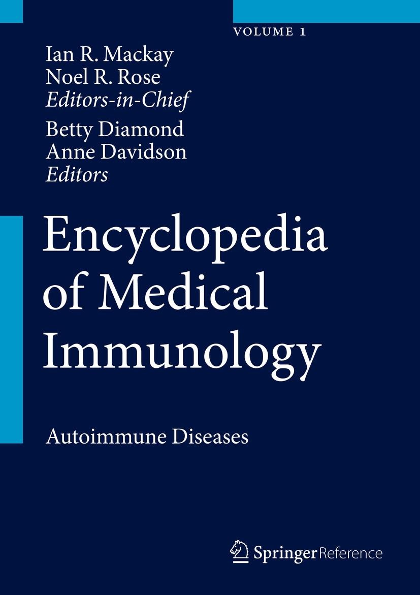 Encyclopedia of Medical Immunology | Mackay / Rose / Diamond / Davidson, 2014 | Buch (Cover)