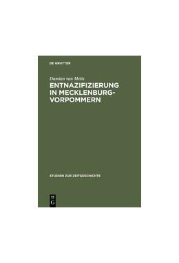Abbildung von Melis | Entnazifizierung in Mecklenburg-Vorpommern | Reprint 2015 | 1999 | Herrschaft und Verwaltung 1945... | 56