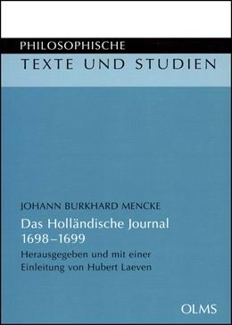 Abbildung von Mencke / Laeven   Das Holländische Journal   2005   1698-1699 (Ms. Germ. oct. 82 d...   77