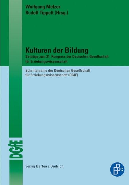 Abbildung von Melzer / Tippelt   Kulturen der Bildung   1., Aufl.   2009
