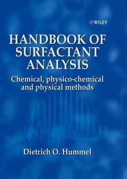 Abbildung von Hummel | Handbook of Surfactant Analysis | 2000
