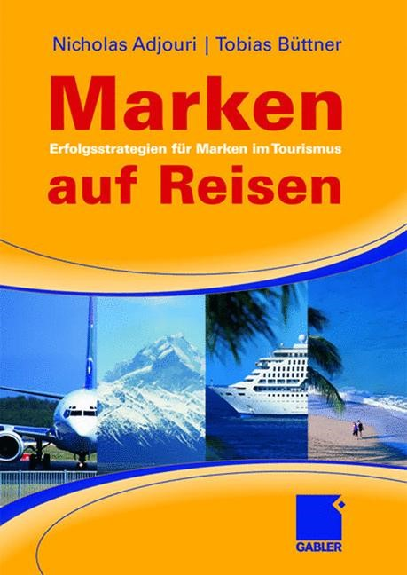Marken auf Reisen | Adjouri / Büttner, 2008 | Buch (Cover)