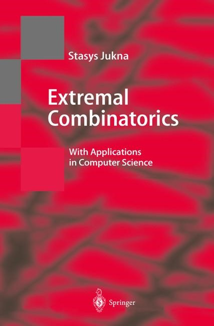 Extremal Combinatorics | Jukna, 2001 | Buch (Cover)
