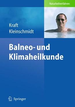 Abbildung von Kraft / Kleinschmidt   Balneo- und Klimatherapie   2014