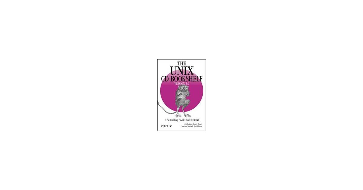 unix cd bookshelf 3 0