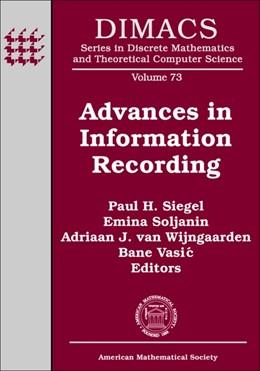 Abbildung von Siegel / Soljanin / van Wijngaarden / Vasic | Advances in Information Recording | 2008 | 73
