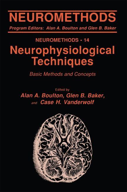 Neurophysiological Techniques | Boulton / Baker / Vanderwolf, 1990 | Buch (Cover)