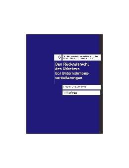 Abbildung von Koch-Sembdner | Das Rückrufsrecht des Urhebers bei Unternehmensveräußerungen | 2004 | 6