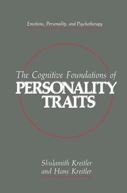 Abbildung von Kreitler | The Cognitive Foundations of Personality Traits | 1990