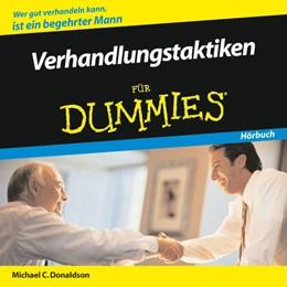 Abbildung von Donaldson | Verhandlungstaktiken für Dummies Hörbuch | 2008