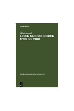 Abbildung von Messerli   Lesen und Schreiben 1700 bis 1900   Reprint 2011   2002   Untersuchung zur Durchsetzung ...   229