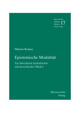 Abbildung von Krause | Epistemische Modalität | 2007 | Zur Interaktion lexikalischer ... | 17