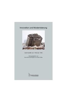 Abbildung von Bogdal / Müller | Innovation und Modernisierung | 2005 | Germanistik von 1965 bis 1980 | 8
