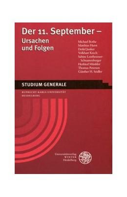 Abbildung von Der 11. September - Ursachen und Folgen   1., Aufl.   2003   Sammelband der Vorträge des St...
