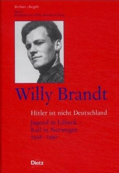 Berliner Ausgabe / Hitler ist nicht Deutschland | Brandt, 2002 | Buch (Cover)