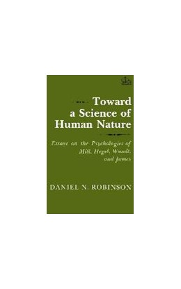 Abbildung von Robinson | Toward a Science of Human Nature | 1982