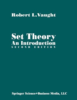 Abbildung von Vaught | Set Theory: An Introduction | 2nd ed. 1995. 1st softcover printing | 2001
