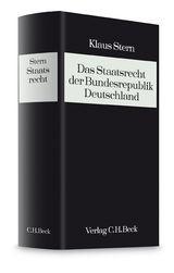 Das Staatsrecht der Bundesrepublik Deutschland, Band V: Die geschichtlichen Grundlagen des deutschen Staatsrechts | Stern, 1999 | Buch (Cover)