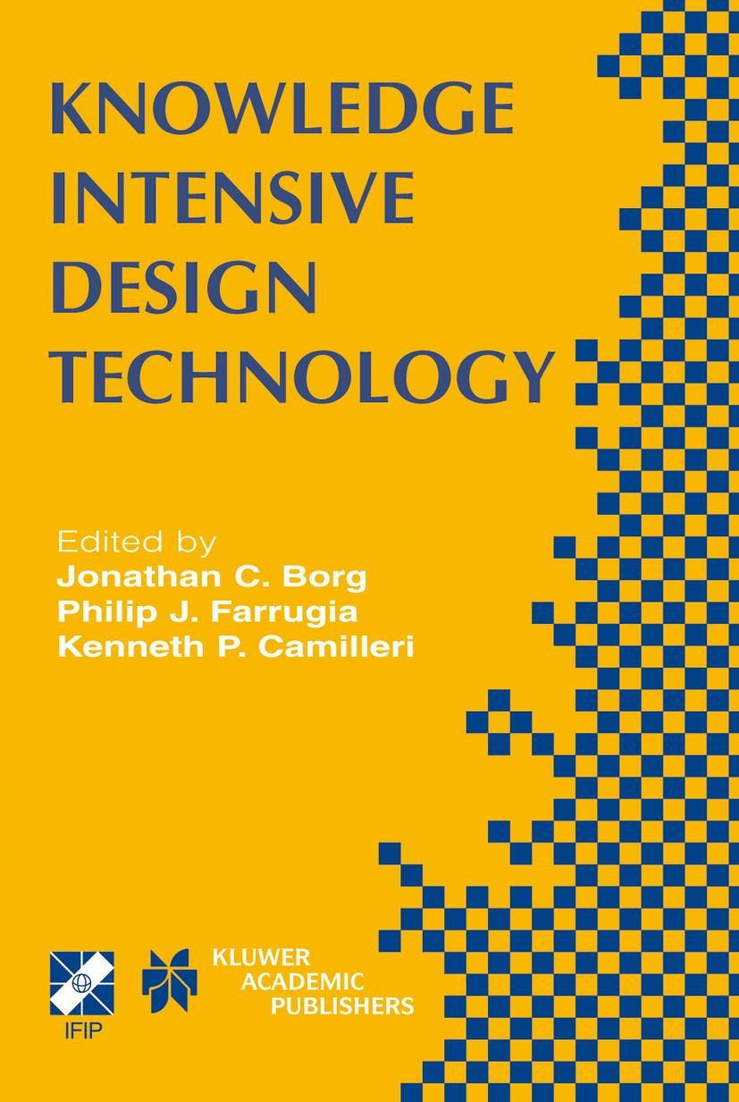Knowledge Intensive Design Technology | Borg / Farrugia / Camilleri, 2004 | Buch (Cover)