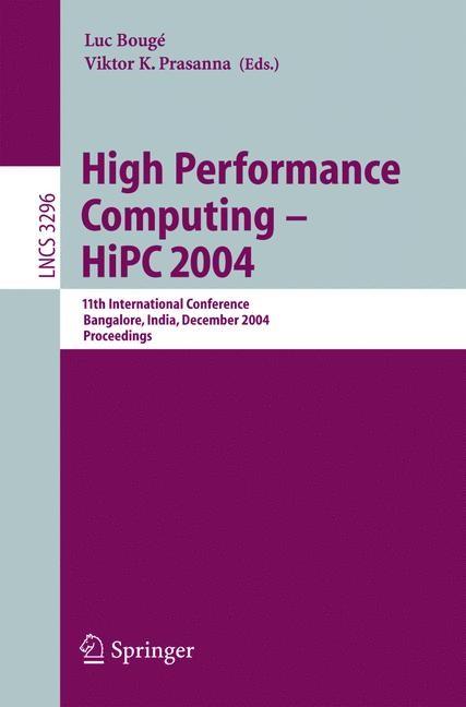 High Performance Computing - HiPC 2004 | Bougé / Prasanna, 2004 | Buch (Cover)