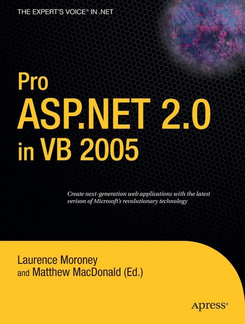 Pro ASP.NET 2.0 in VB 2005 | Moroney / MacDonald | 1st ed., 2006 | Buch (Cover)