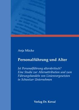 Abbildung von Mücke | Personalführung und Alter | 2008 | Ist Personalführung alterskrit... | 21