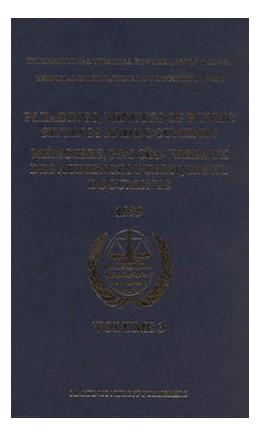 Abbildung von Pleadings, Minutes of Public Sittings and Documents / Mémoires, procès-verbaux des audiences publiques et documents, Volume 3 (1999) | 2006 | 3