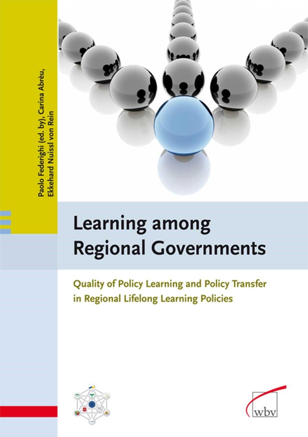 Abbildung von Abreu / Federighi / Nuissl | Learning among Regional Governments | 2007