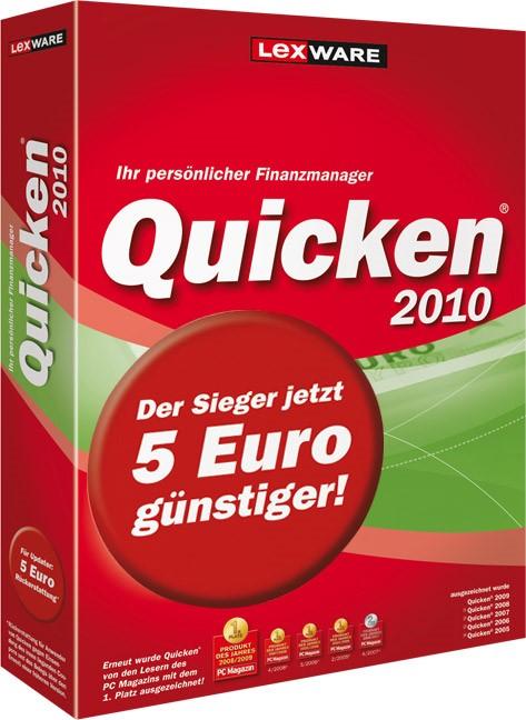 Abbildung von Quicken 2010 | Version 17.00 | 2009