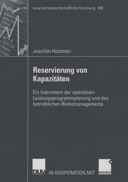 Abbildung von Houtman | Reservierung von Kapazitäten | 2005 | Ein Instrument der operativen ... | 339