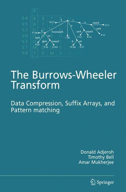 Abbildung von Adjeroh / Bell / Mukherjee   The Burrows-Wheeler Transform:   2008