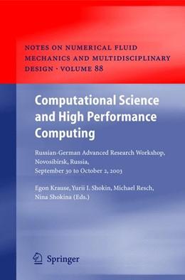 Abbildung von Krause / Shokin / Shokina | Computational Science and High Performance Computing | 2005 | Russian-German Advanced Resear... | 88