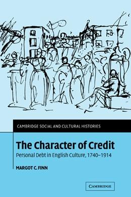Abbildung von Finn | The Character of Credit | 2007