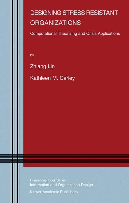 Designing Stress Resistant Organizations | Lin / Carley, 2003 | Buch (Cover)